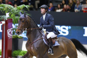 LONGINES FEI WORLD CUP JUMPING FINAL 2 Patrice DELAVEAU (FRA). Lacrimoso HDC